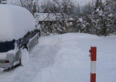parkeerplaats huisje